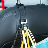 2 Pcs Seat Chair Office Home Auto Car Shopping Bag Holder Seat Hook Hanger Shan