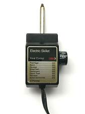 JC Penney Electric Skillet 4130 Heat Control Probe Cord E78229-HMD2W Japan VTG