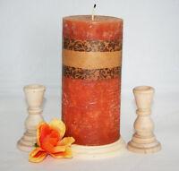 Unity Wooden Candlesticks Wedding Table Candlestick Holders Various Sizes set