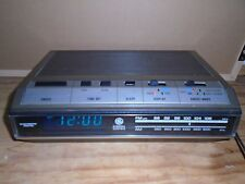Vintage GE Clock Radio 7-4643A - Read Descriptions