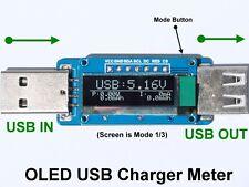 0.91 OLED USB Charger Power Current Voltage Detector / Tester / Meter / Mobile