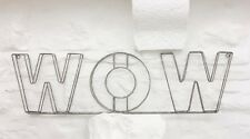 WOW WIRE SIGN PARISIAN
