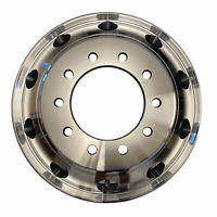 NEW 22.5x8.25 Aluminum HD Truck Trailer Wheel Rims Hub Alcoa Style Dually 10 LUG