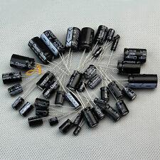 125 Condensatore Elettrolitico 25 Valori Misti 1uF-2200uF 16V/25V/50V Offerta