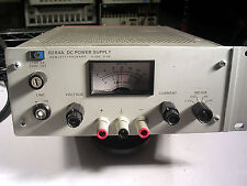 HP AGILENT 6284A DC POWER SUPPLY 0-20VDC  0-3A TESTED