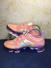 Nike Women's Air VaporMax 2019 Bleached Coral AR6632-603 Size 8 US