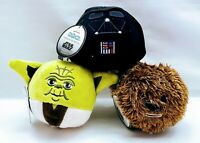 HALLMARK DISNEY STAR WARS FLUFFBALL ORNAMENT SET OF 3