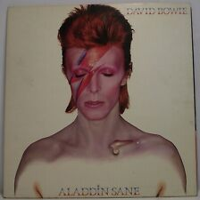 "DAVID BOWIE Aladdin Sane LP Album 33rpm 12"" Vinyl VG 1st Press"