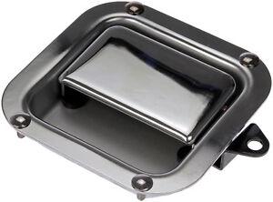 HD Fr L/H Chrome Ext Dr Handle Dorman 760-5424,K294195 Fits 82-05 Kenworth