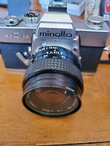 Minolta SRT 102 35mm Film SLR Camera With l 39 50mm