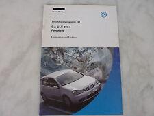 SSP 321 VW Der Golf V/5 ab 2004 Fahrwerk Handbuch - Selbststudienprogramm