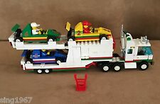 6335 Lego Complete Town Indy Transport vintage city truck car hauler octan race