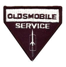 Hot Rod Patch Oldsmobile Badge Vintage Sales Service Mechanic Rocket 88