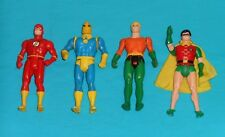 vintage Kenner SUPER POWERS LOT #16 Dr. Fate ROBIN The Flash AQUAMAN