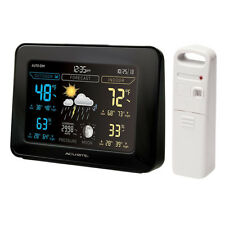 Acurite 02027 Color Weather Station (Dark Theme)