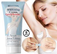 10 Seconds Instant Bellezon Whitening Cream Underarm Whitening Legs Armpit U6J7
