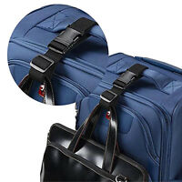 Add-A-Bag Luggage Strap Jacket Gripper Baggage Suitcase Straps Belts For Travel