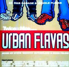 TWICE AS NICE CD - URBAN FLAVAS - 2 X MIXED CDS R&B HIP HOP D&B UK GARAGE CDJ DJ