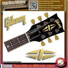 sticker autocollant  gibson Split Diamond GUITARE HEADSTOCK rock decal music