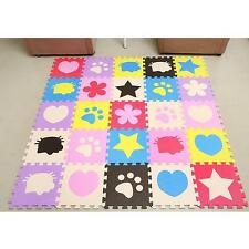 Soft EVA Foam Pattern Puzzle Mat Pad Floor Crawling Rugs Baby Kids Toy Games