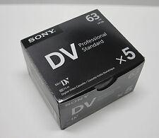 5 Sony Pro ZR50MC ZR Mini DV camcorder video tape for Canon ZR400 ZR45MC ZR500