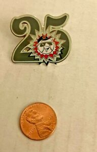 Vintage 2006 Hagerstown Suns Logo Pin 25th Anniversary Metal Super Rare