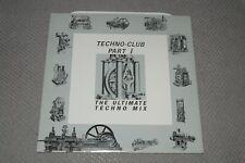 Techno-Club Part 1~The Ultimate Techno Mix~1989 Techno~German IMPORT~FAST SHIP!
