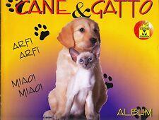 """MASTER: ALBUM FIGURINE """"Cane & Gatto"""" - COMPLETO (144 figurine + 17 cuccioli)"""