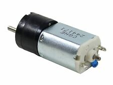 20GN steel 150:1 gear DC motor, 60rpm 12V 3mm Dia. RS 398-9669 PN 20G-12-150 #MC