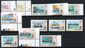 Norfolk island 1990 Ships set mint
