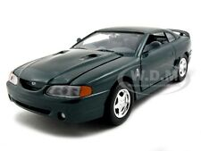 1998 FORD MUSTANG SVT COBRA GREEN 1:24 DIECAST MODEL CAR BY MOTORMAX 73208