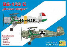 "RS Models 1/72 BUCKER bu-133c"" Raya Verde "" #92222"