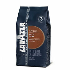 Lavazza Super Crema Espresso Beans 2.2 lbs - Pack of 2