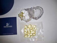 SWAROVSKI ANNA'S JEWEL BOX RETIRED 666890 NIB COA