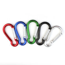 4mm Aluminum Carabiner Clip For Outdoor Activity US Stock  3pcs