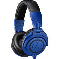 Audio Technica ATH-M50x Limited Edition Professional Headphones - Blue Black