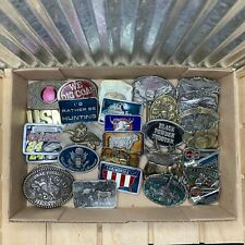 1900s-1990s Belt Buckles - Good to Great condition - Made in the USA