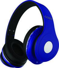 COBY CHBT-709-BL Blue Studio Bluetooth Stereo Headphones