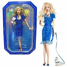 BARBIE NOVEMBER MISS SAPPHIRE BIRTHSTONE BEAUTIES DOLL 2007 PINK LABEL *NEW*