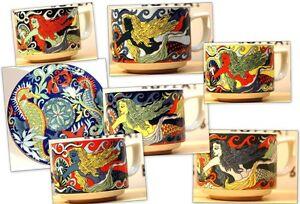 NYMPHE BOPLA SWISS Porzellan Kaffeetasse Teetasse 0,19l stapelbar Serie Fantasia