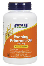 NOW Foods Evening Primrose Oil 500 mg, 250 Softgel