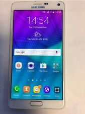 Samsung Galaxy Note 4 SM-N910F 32GB White Unlocked Excellent Condition+Warranty