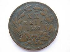 Portugal 1883 20 reis, F.