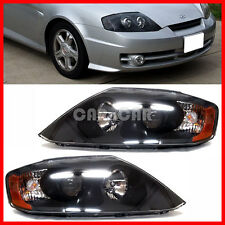 OEM GENUINE PART HEAD LIGHT LAMP SET BLACK VERSION 2003-2004 TIBURON / COUPE