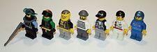 Lego Diver Extreme Team Unitron Police Racer Town Minifigures