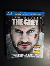 The Grey (Blu-ray/DVD, 2012, 2-Disc Set) W/Slipcover