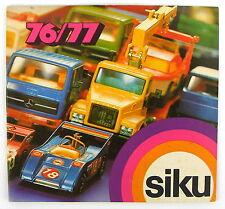 Siku Catalogue 1976/77 * Ex-Shop Stock *