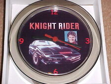 "Knight Rider Novelty Wall Clock 7"" Hoff Kitt ""New"""