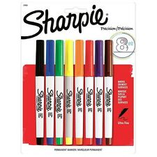Sharpie Ultra Fine Point Permanent Markers, Assorted Colors 8 ea (Pack of 2)