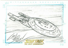 Quotable Star Trek Next Generation TNG Chris Bolson USS Enterprise Sketchafex #5
